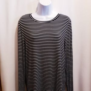 Old Navy Striped Long Sleeve Shirt - Size L